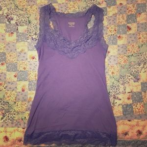 Lacy Lavender Mossimo Supply Co Camisole